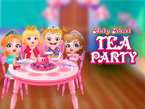 Baby Hazel Tea Party