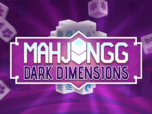 3D dark mahjong