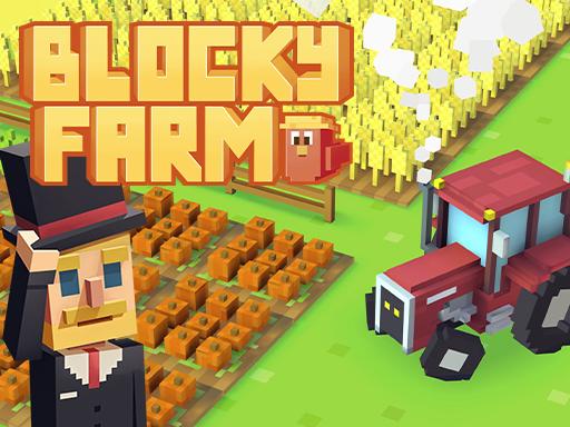 Blocky Farm game