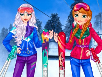 Princesses At Ski