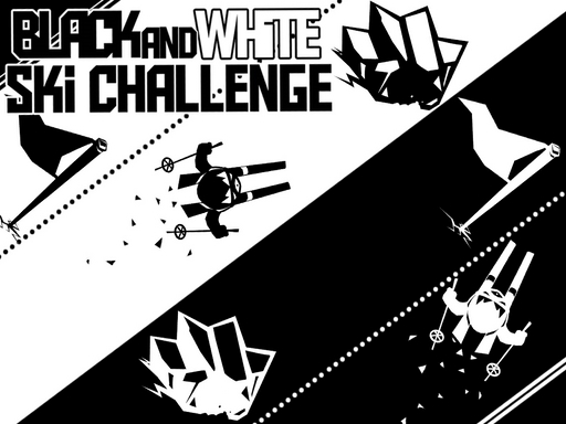 Black & White Ski Challenge online hra