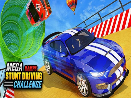 Mega Ramp Car Stunts Racing : Impossible Tracks 3D