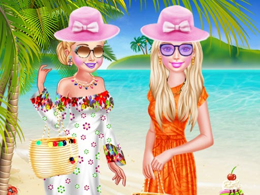 Bff Spring Beach Holiday online hra