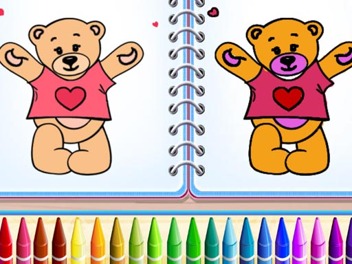 Cute Teddy Bear Colors