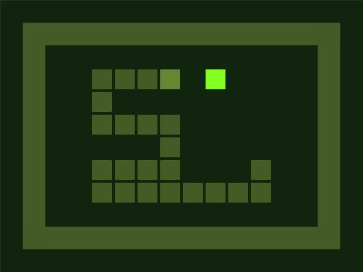 Hyper Nostalgic Snake game