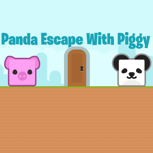 Panda Escape With Piggy