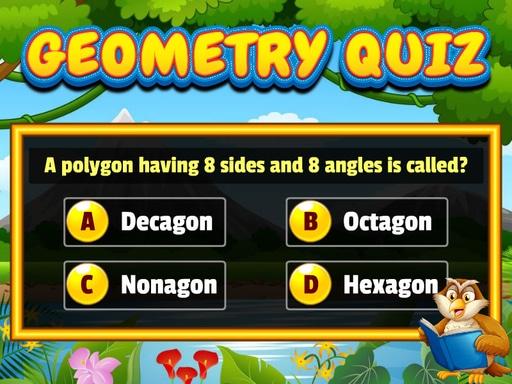 幾何測驗--Geometry Quiz-通過回答有趣的問題來檢查您的幾何技能。 您將獲得每個問題的 4 個選項。 第一次嘗試回答正確會給你更多的分數。 嘗試取得最高分並挑戰您的朋友,跟朋友一起比拼看看。