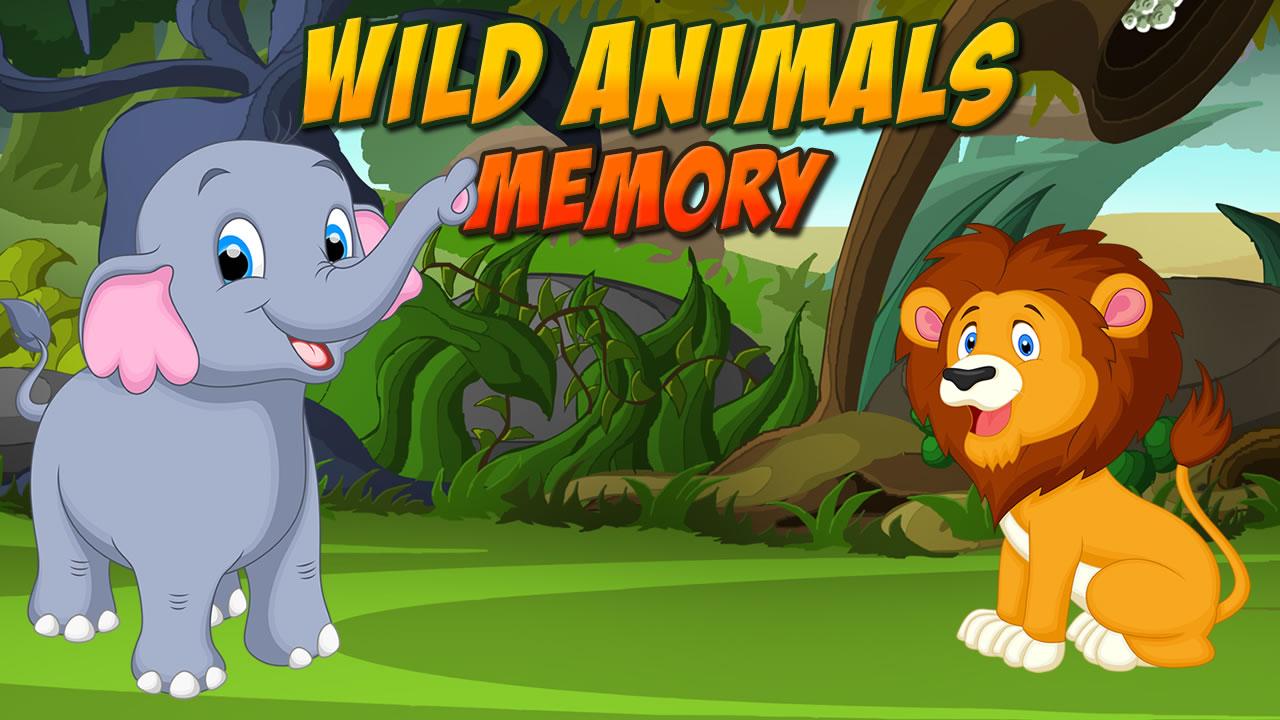 Wild Animals Memory - GameZERG net