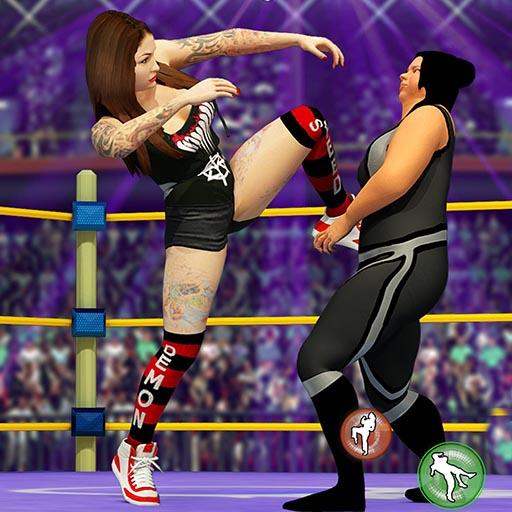 Women Wrestling Fight Revolution Fighting Games