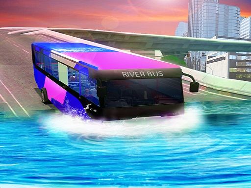 Water Surfing Bus Driving ...