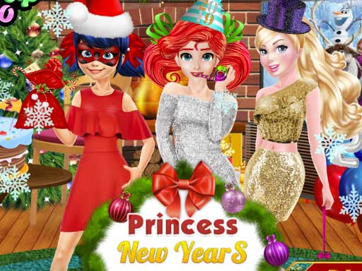 Princess New Years Party online hra