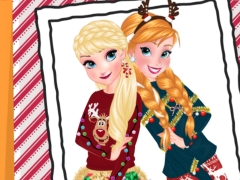 Sisters Ugly Xmas Sweater online hra