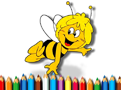 BTS Bee Coloring Book