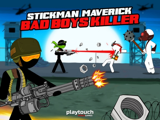 Stickman Maverick Bad Boys Killer