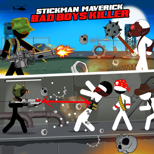 Stickman maverick-bad boys killer