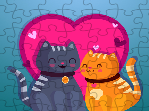 Cats Love Jigsaw