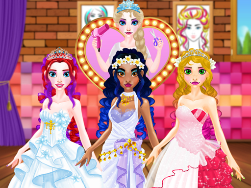 Wedding Hairdresser For Princesses online hra