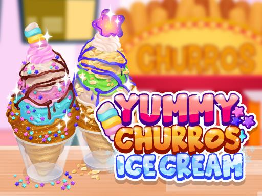 美味的油條冰淇淋--Yummy Churros Ice Cream-創建您自己的油條冰淇淋! 完成任務列表中的每一步,製作美味的冰淇淋。 選擇您最喜歡的口味,並用糖漿和澆頭的組合來完成。 完成您的任務列表並解鎖成就!