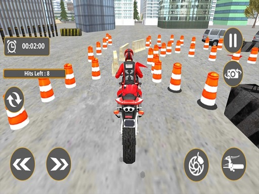 Bike Parking : Motorcycle Racing Adventure 3D
