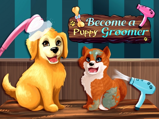 Become a Puppy Groomer online hra