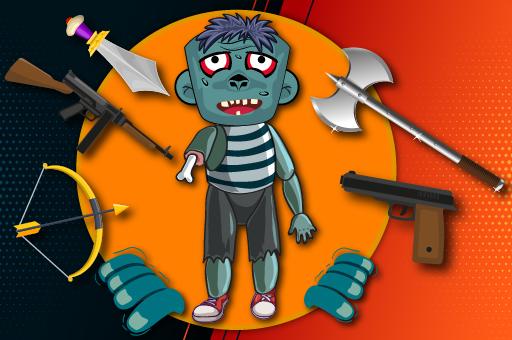 Kick The Zombie Game