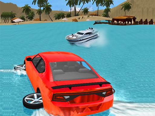 Water Slide Car Race online hra