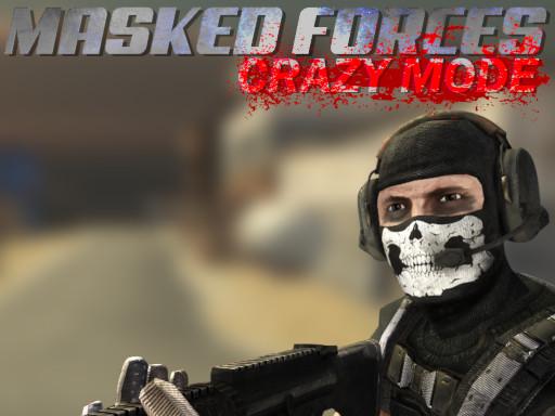 Masked Forces Crazy Mode online hra