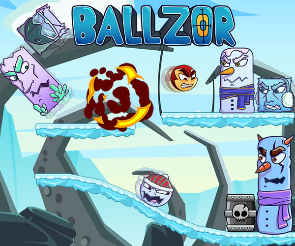 Ballzor Level Pack 1 online hra