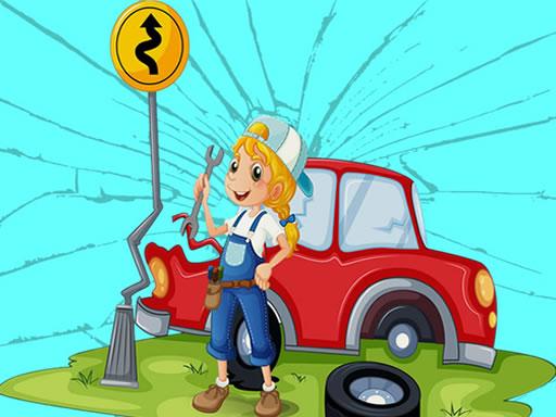 Broken Cars Jigsaw online hra