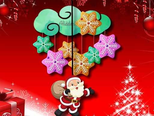 Hidden Christmas Cookies online hra