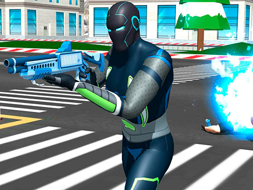 Punch Superhero online hra