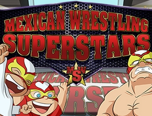 Mexican Wrestler Superstars online hra