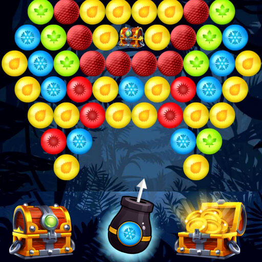 Bubble Shooter Golden Chests