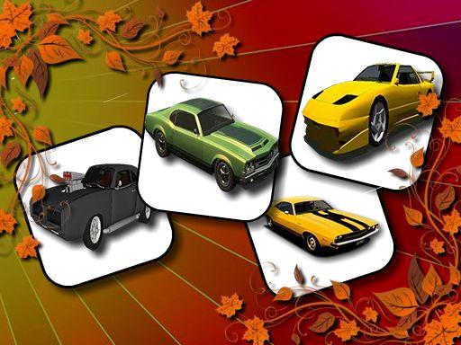 Fancy Cars Memory Match online hra