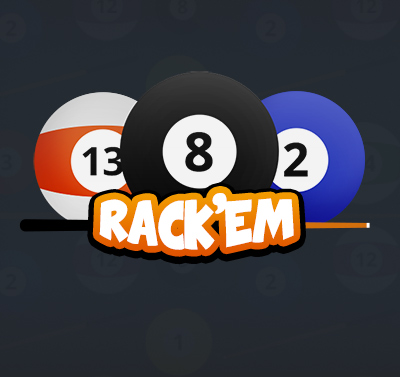 Rack'em 8 Ball Pool game