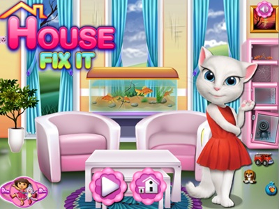 Talking Angela House Fix