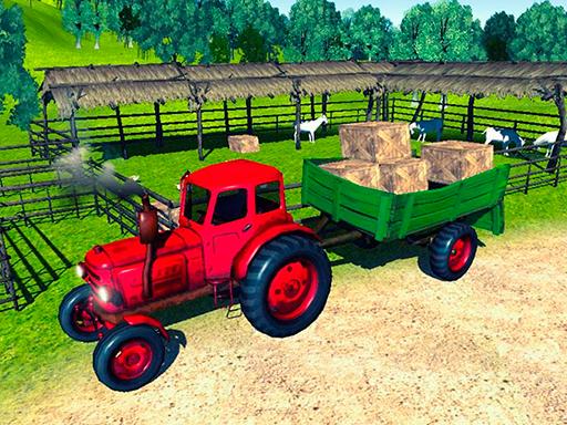 Farmer Tractor Cargo ...