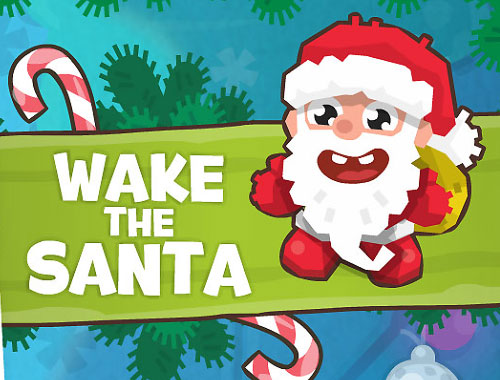 Wake the Santa online hra