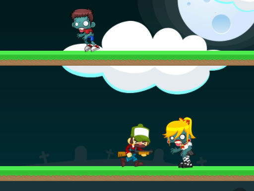 Zombies Jump Game