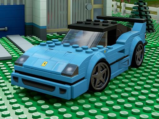 Puzzle voitures miniatures