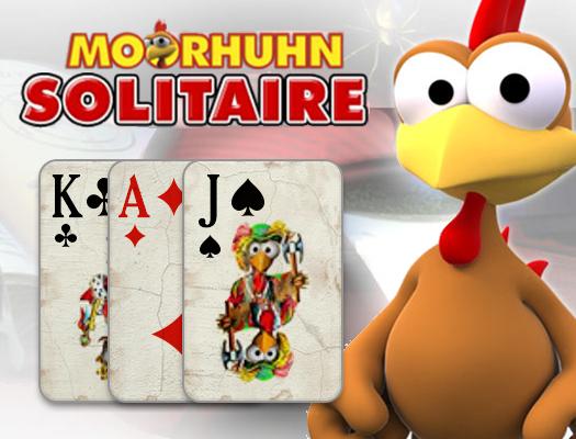 Moorhuhn Solitaire online hra