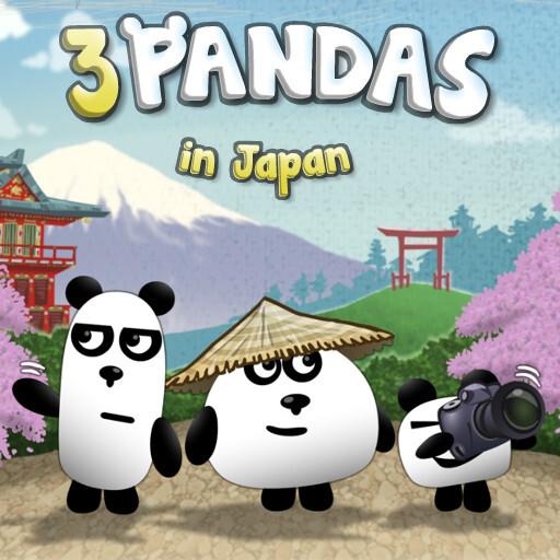 3 Pandas In Japan HTML5