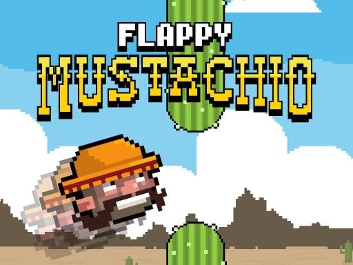 Flappy Mustachio online hra
