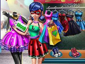 Dotted Girl Realife Shopping online hra