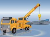 Heavy Crane Parking