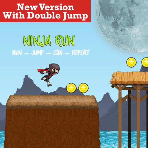 Ninja Run Double Jump Version