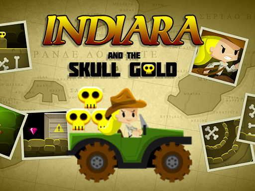 Indiara and the skull gold