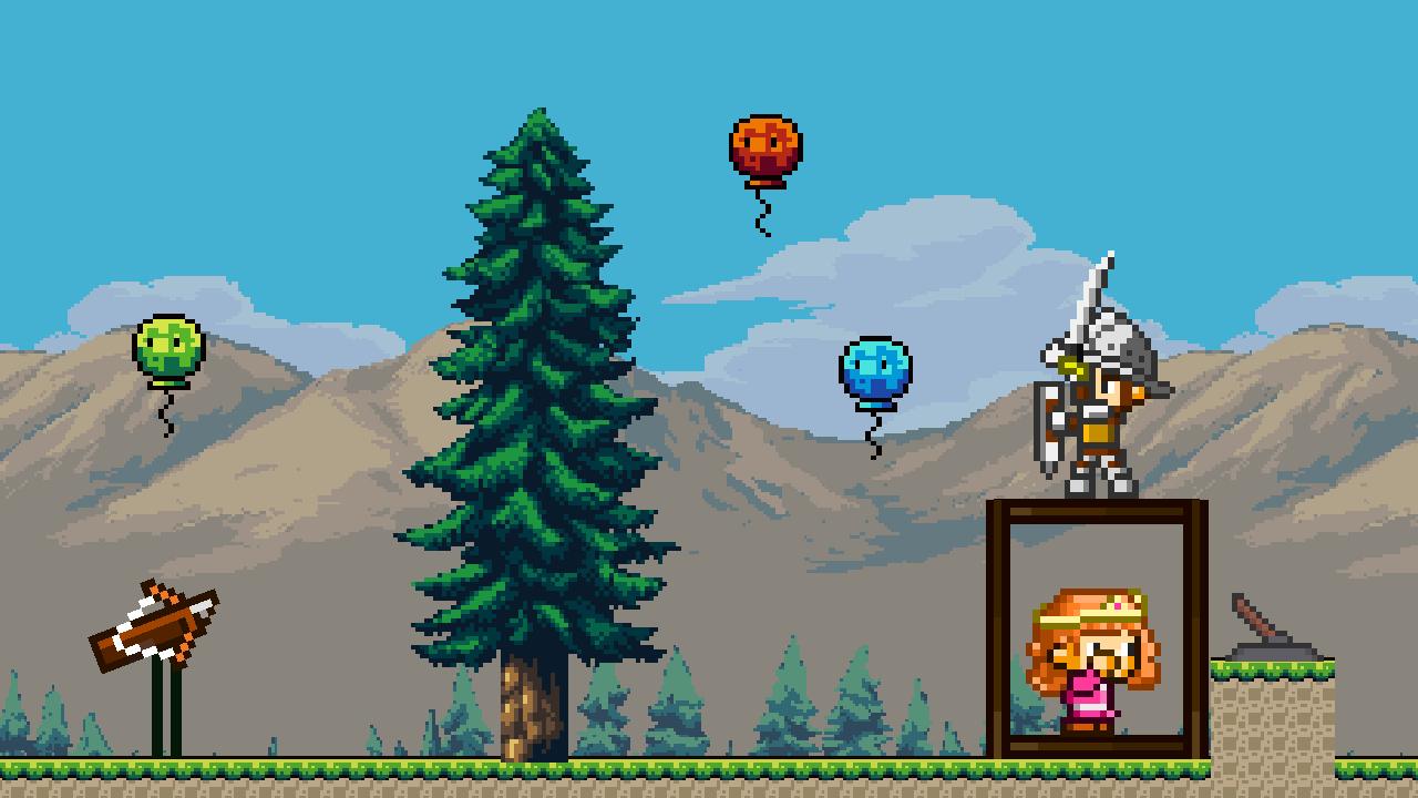 Image Pixel Archer Save The Princess