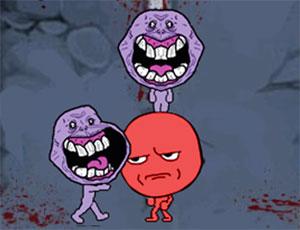 Trollface vs Zombies online hra