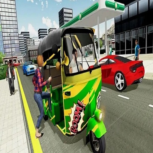 Indian Tricycle Rickshaw Simulator